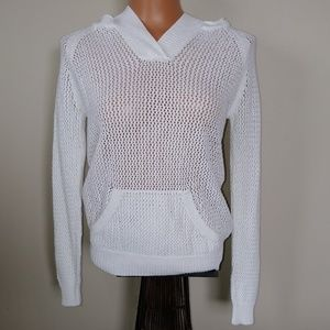 Anthropology Shirt 469 knitted hodie